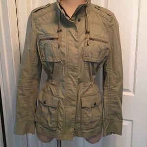 Calvin Klein military/utility/safari style jacket